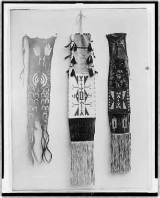 Edward S. Curtis Collection- Pipe bags