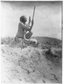 Edward S. Curtis Collection- Prayer to the Great Mystery, (Slow Bull)