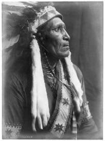 Edward S. Curtis Collection- Raven Blanket -Nez Perce