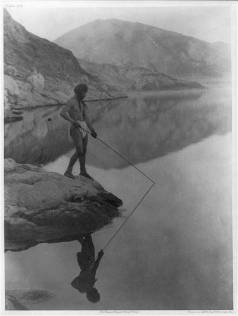 Edward S. Curtis Collection- Shores of Walker Lake- Paviotso