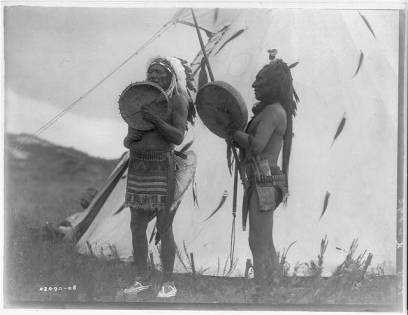 Edward S. Curtis Collection- Singing deeds of valor