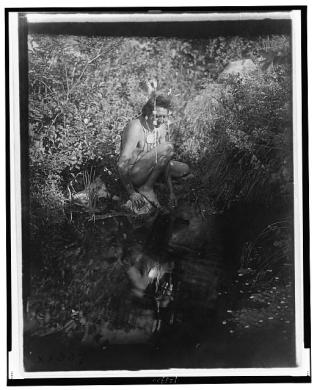 Edward S. Curtis Collection- The drink