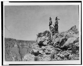Edward S. Curtis Collection- Watching the signal