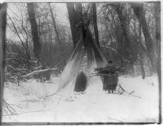 Edward S. Curtis Collection- Winter- Apsaroke