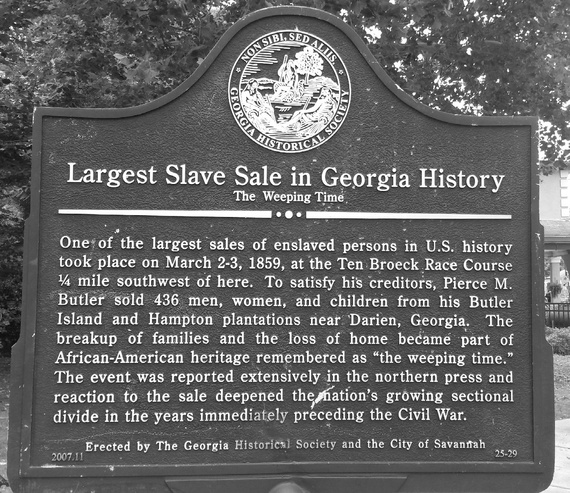largest slave auction in history