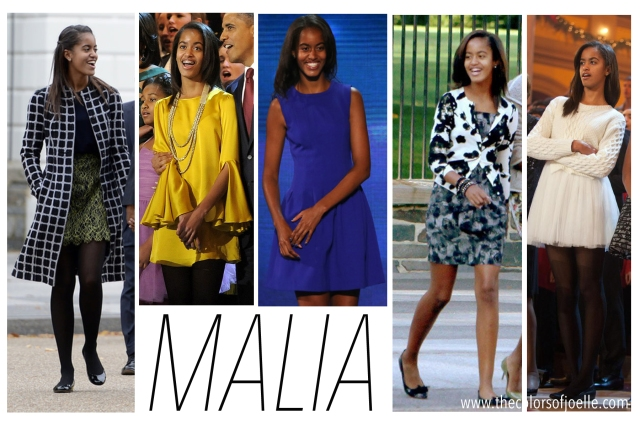 Happy 17th Birthday to... Obama Daughters 2014