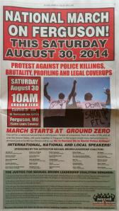 National march on Ferguson