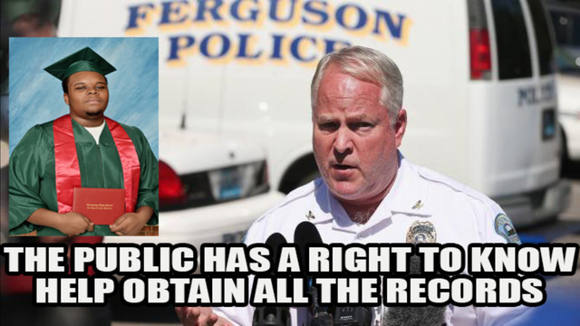 Get Ferguson Police to Release All Public Records