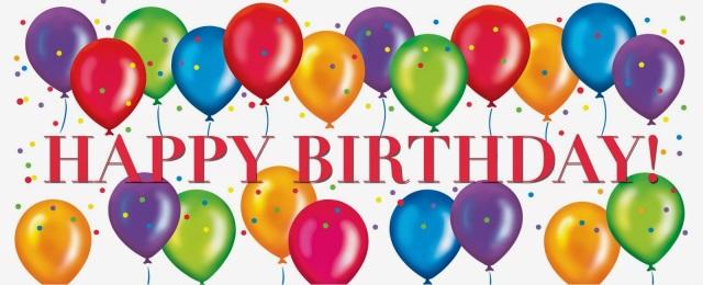 Happy Birthday Balloons 27