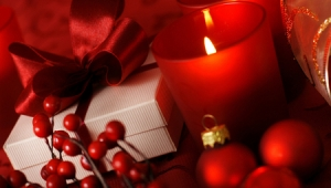 Holiday candle 3
