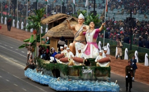 Dress rehearsal for the Republic Day parade, India gears up for Obama's visit