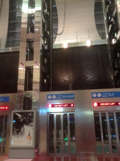Dubai Airport Elevator