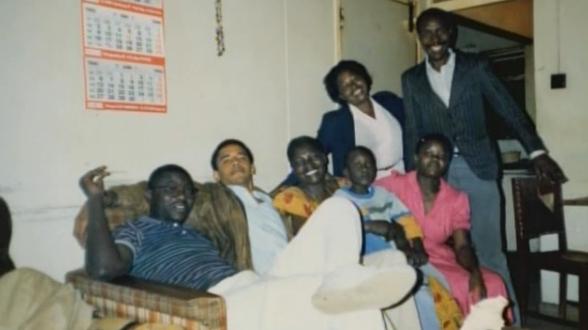 Barack visiting family in Kenya2