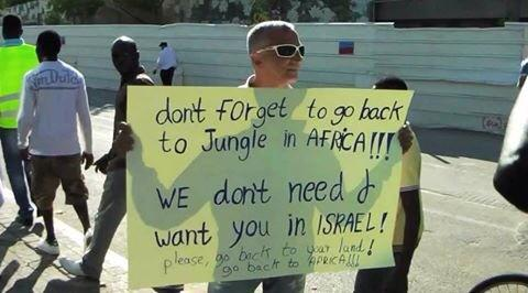 Israel- go back to Africa