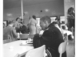 Norview High School: A photographer chronicles Andrew Heidelberg at lunch. (Virginian-Pilot file photo)
