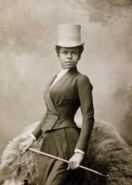 black_woman equestrian_late1880ssdfsdfsdf