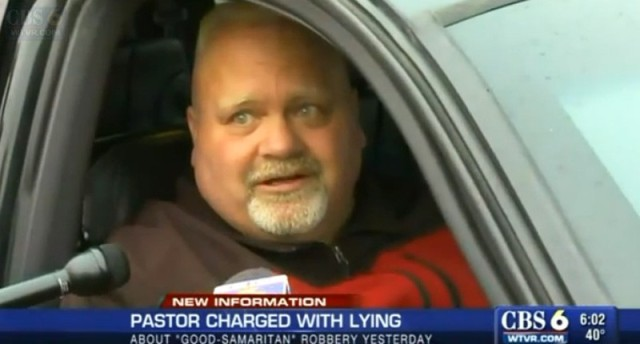 Pastor shot himself
