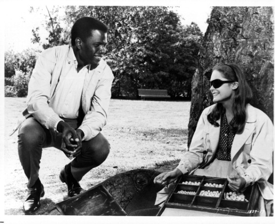 Elizabeth Hartman And Sidney Poitier In 'A Patch Of Blue'