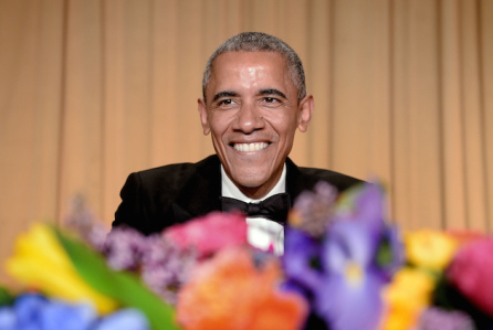 Barack Obama Addresses White House Correspondents Dinner