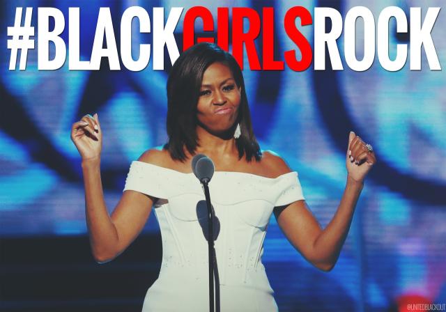 FLOTUS BLACK GIRLS ROCK