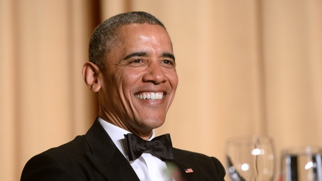 Image: President Obama attends White House Correspondent's Association Dinner - Washington