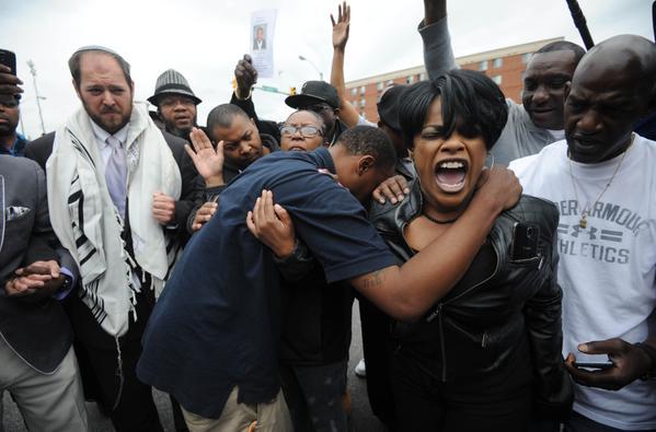 Baltimore celebrating justice for Freddie Gray