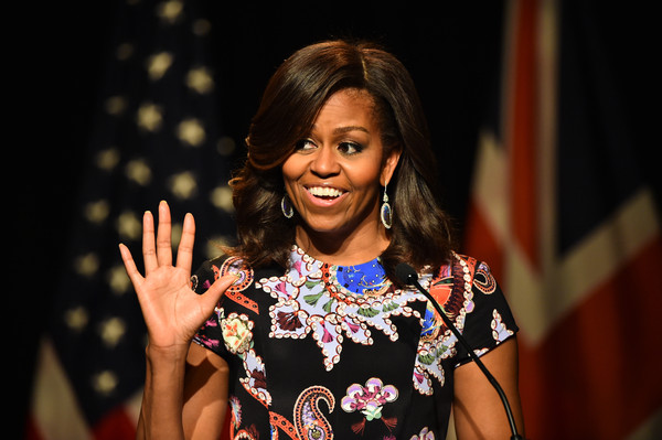Michelle+Obama+First+Lady+Visits+London+Part+WYxCybMP2gol