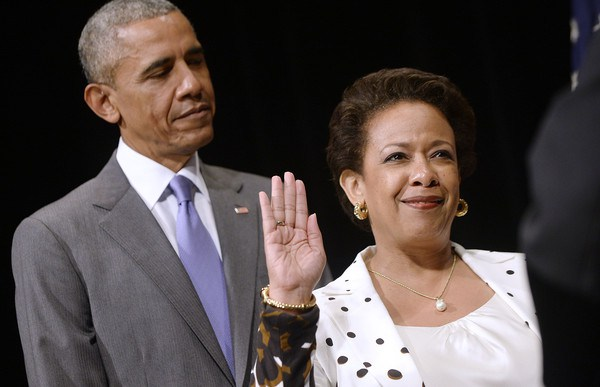POTUS with Attorney General Lynch
