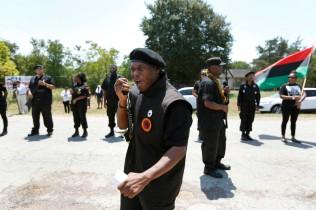 Newton Gun Club Protest