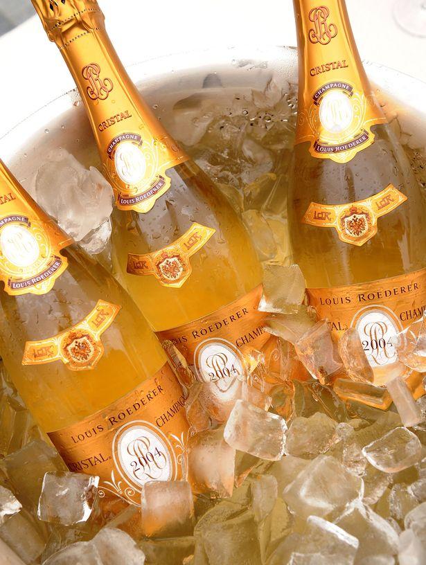 Cristal champagne 22