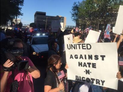 Protest Trump DFW 2