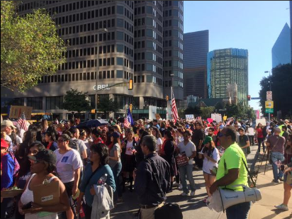 Protest Trump DFW