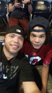 Boys at Texans game 10