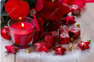 Christmas candles 83