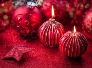 Christmas candles 84