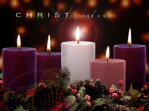 Christmas candles 87