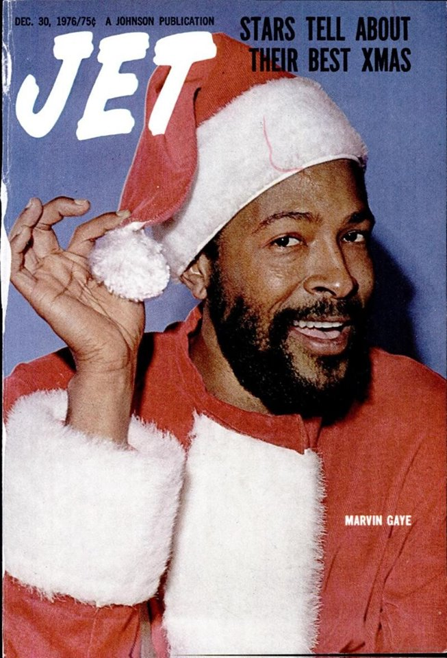 Is that the black santa claus christmas from jet
