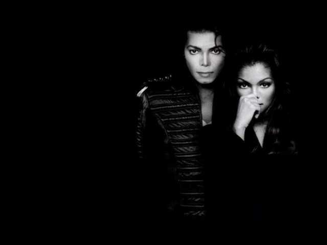 Janet Jackson and Michael Jackson