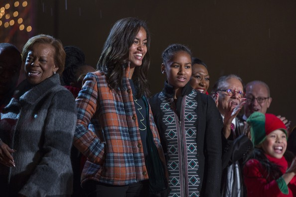 Malia+Obama+First+Family+Attend+National+Christmas+oOCKkBu8BpJl