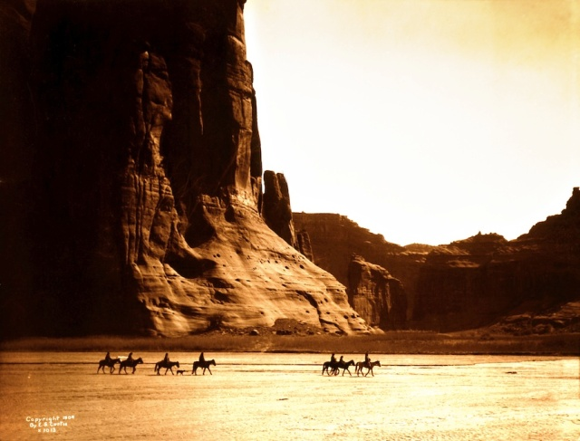 Native American Canyon-de-Chelly-Navajo-1904