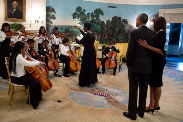 First Couple with DC Youth Orchestra 2016