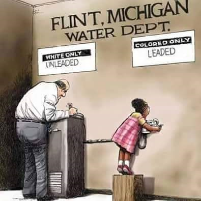 Flint water racial terror