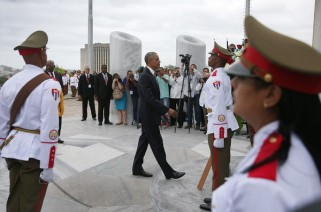 Cuba wreath laying ceremony 7