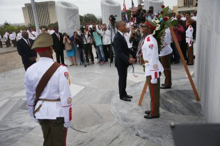 Cuba wreath laying ceremony 9