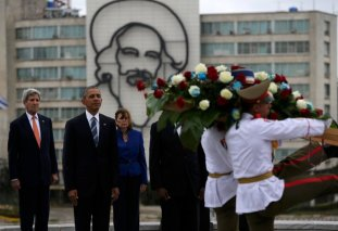 Cuba wreath laying ceremony
