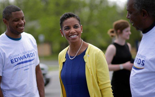 Donna Edwards Senate