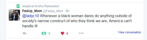 Fed up Mom