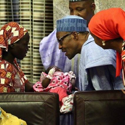 Chibok Girl Rescued 1