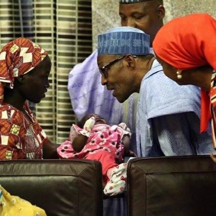 Chibok Girl Rescued 1