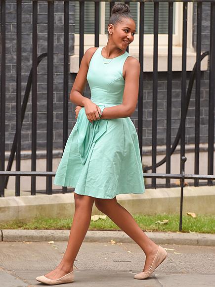 Sasha Obama 2016-17